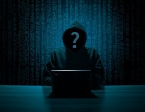 Cyber Hacker For Email Phishing Scheme
