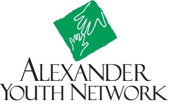 Alexander Youth Network Logo White Background