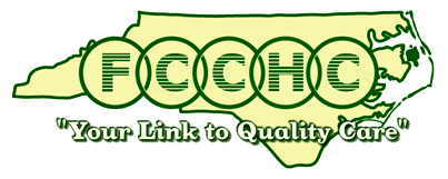 Green and yellow logo for First Choice Community Health Centers