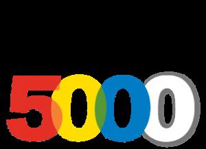 Inc. Magazine Multi-colored logo for Inc. 5000