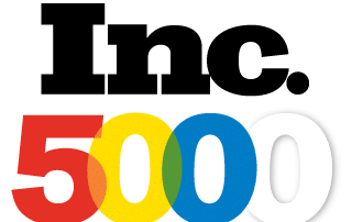 Inc Magazine Multi-colored logo for Inc. 5000