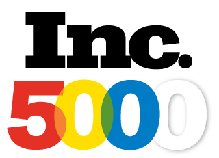 Inc. Magazine Multi-colored logo for Inc. 5000