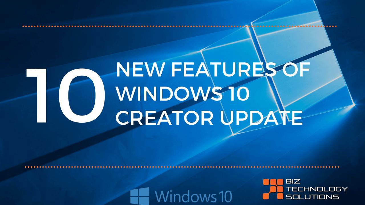 Windows 10 Creator Updates