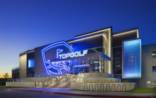 TopGolf Charlotte, North Carolina - Architectural Photography by Michael Baxter, Baxter Imaging LLC