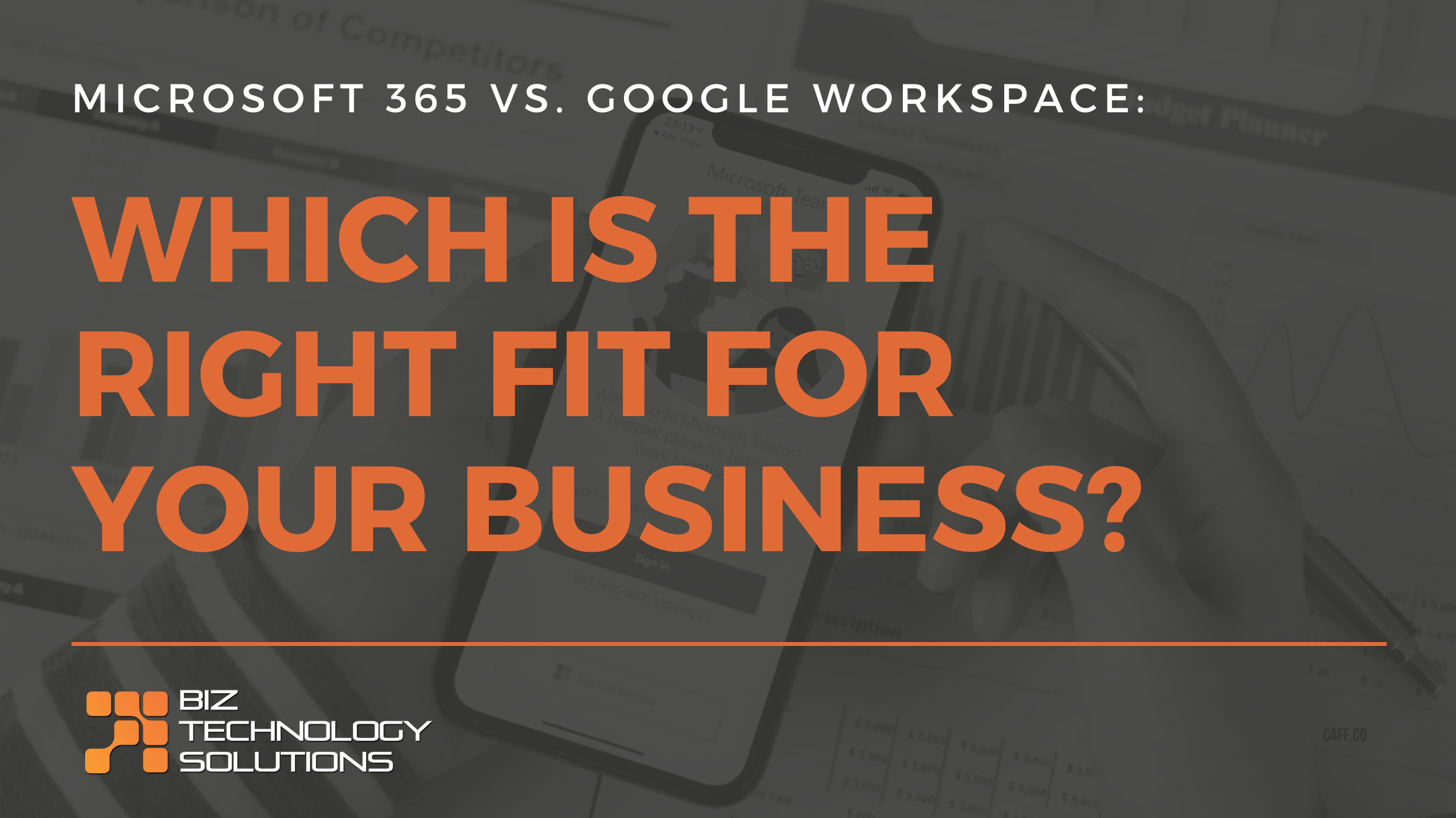 Microsoft 365 vs Google Workspace: Which Is the Right Fit for Your Business?
